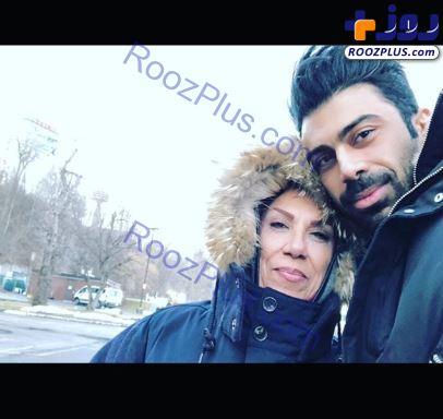 شوهر و مادرشوهر روناک یونسی +عکس
