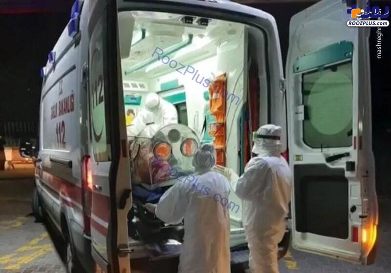 انتقال یک مظنون به ابتلا ویروس کرونا در ترکیه/تصاویر