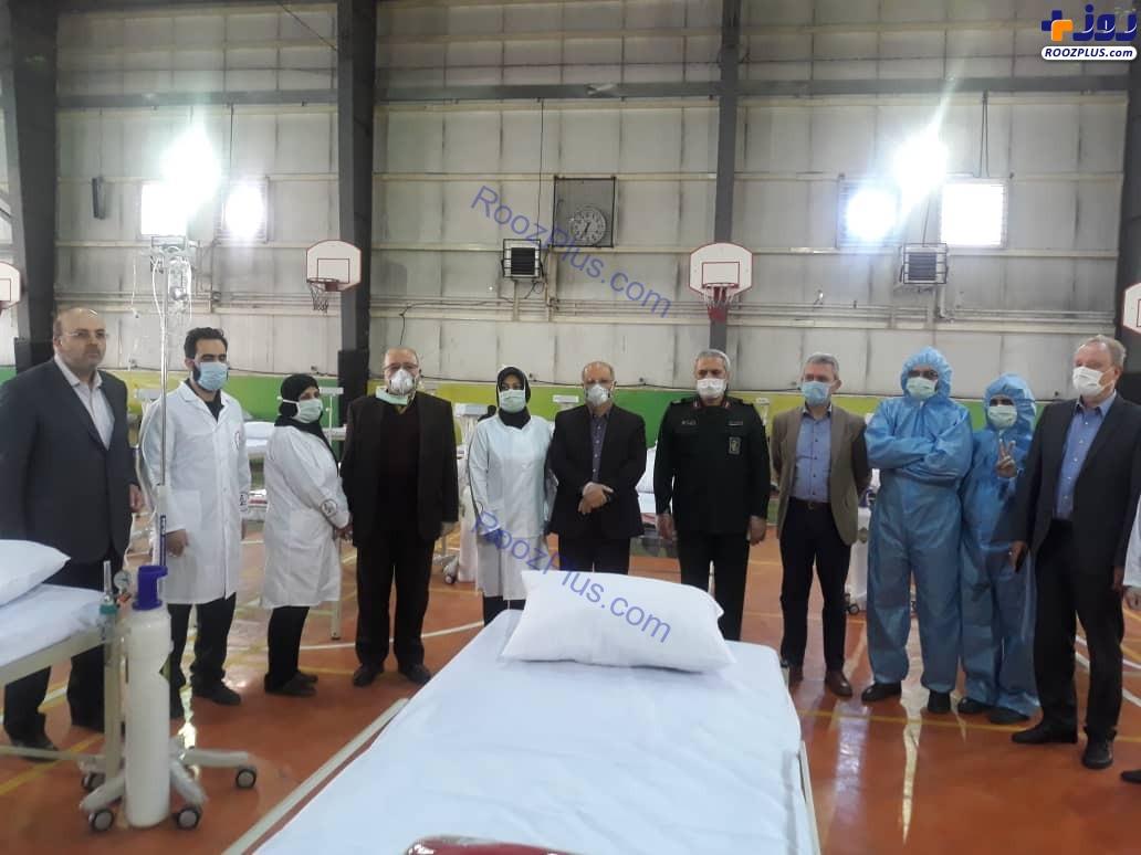 بازدید نمایندگان سازمان بهداشت جهانی از استراحتگاه های بیمارستانی بسیج جامعه پزشکی کشور