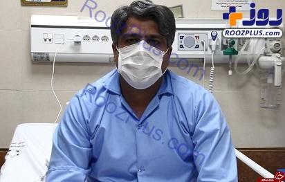 پزشک اراکی ویروس کرونا را شکست داد+عکس