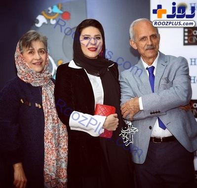 سحر دولتشاهى در کنار پدر و مادرش +عکس