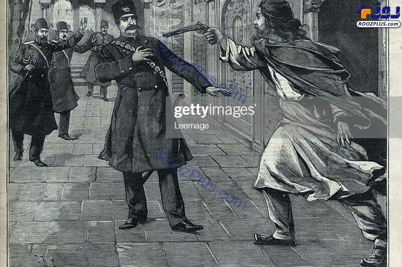 صحنه قتل ناصرالدین شاه روی جلد روزنامه فرانسوی +عکس