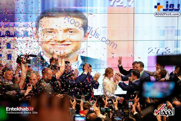 کمدینی که رئیس جمهور اوکراین شد+تصاویر