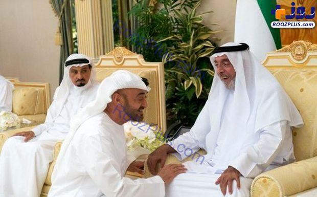 چهره متفاوت امیر امارات پس از غیبت ۱ ساله! +عکس