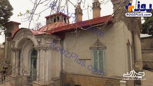 رنگآمیزی یک بنای تاریخی برای سریال! +عکس