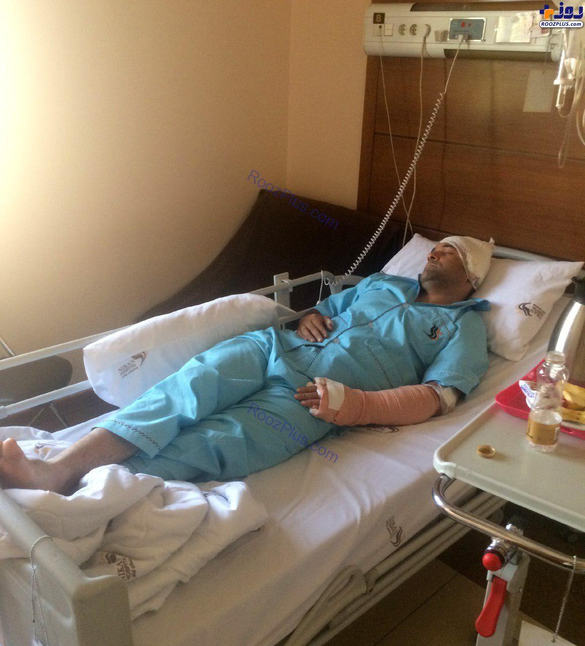 حمله متخلفان ساختمانی به مأمور شهرداری با ۲۵ ضربه چاقو +عکس