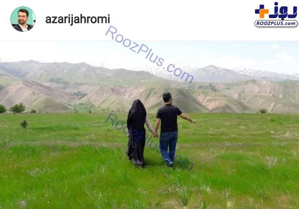 سوژه شدن عکس عاشقانه وزیر ارتباطات و همسرش +عکس