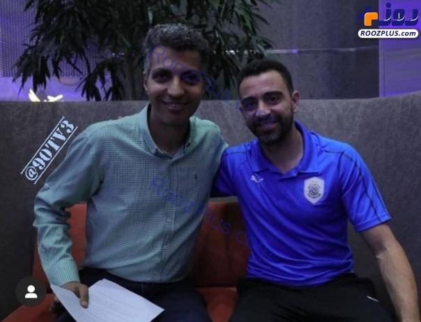عادل فردوسیپور در پشت صحنه برنامه فوتبال 120 +عکس
