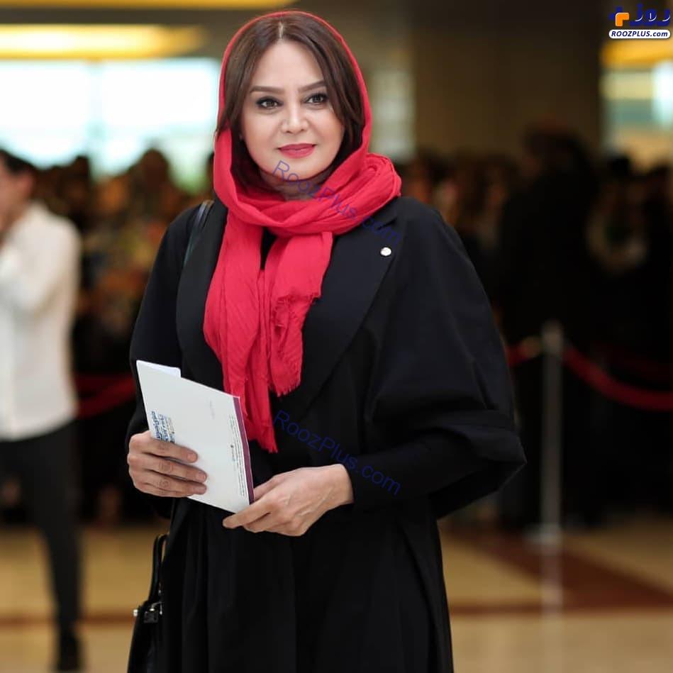 بازیگر سریال «دختران» در جشن حافظ +عکس