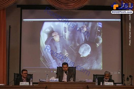 نجفی دقایقی پس از قتل همسرش/تصاویر