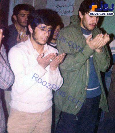 احمدینژاد و صادق محصولی در روزهای جوانی +عکس
