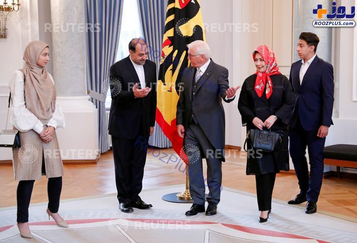 سفیر جدید ایران و خانواده اش در آلمان +عکس