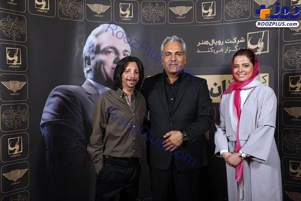 زوج معروف ماه عسل در کنسرت مهران مدیری+ عکس