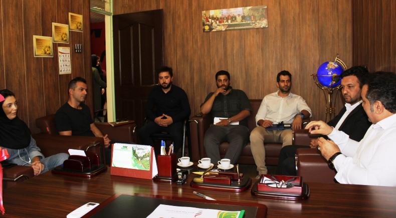 نشست رئیس هیأت ورزش های همگانی تهران با مسئولان کمیته کراس فیت استان