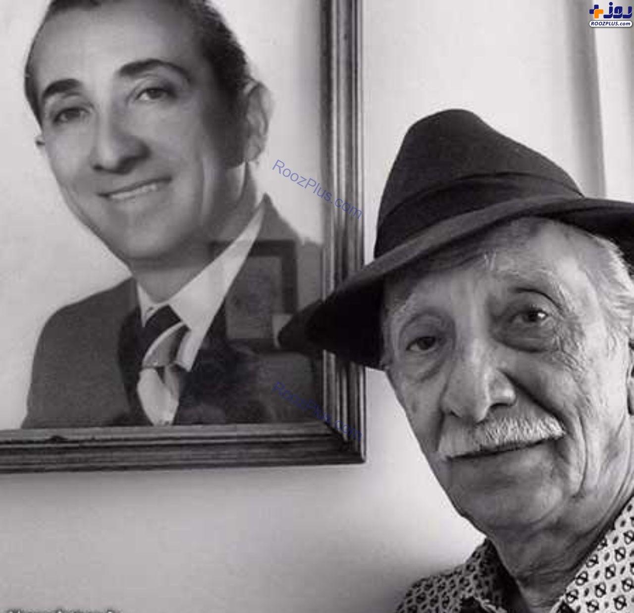 عکس/مرحوم داریوش اسدزاده از دیروز تا امروز