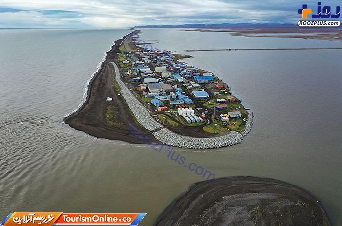 جزیره زیبایی که غرق خواهد شد +عکس