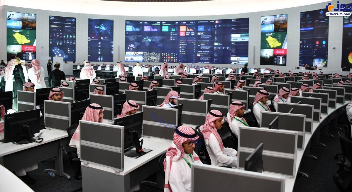 تصویری از لشکر سایبری سعودی
