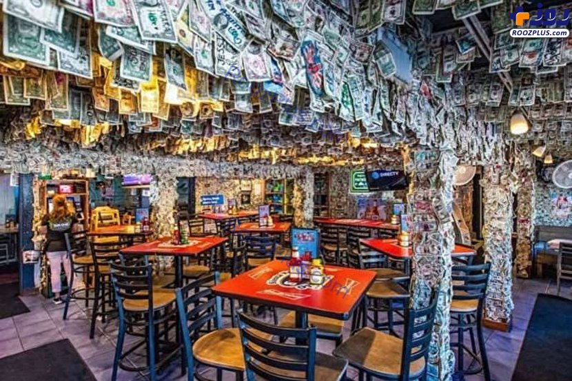 تزئین رستوران با ۱۵ هزار دلار! +عکس