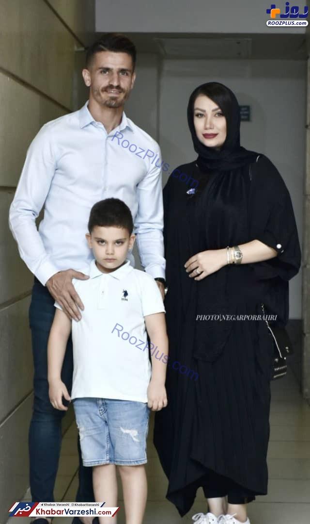 عکس/وریا غفوری و همسرش مهمان ویژه «آبی به رنگ آسمان»