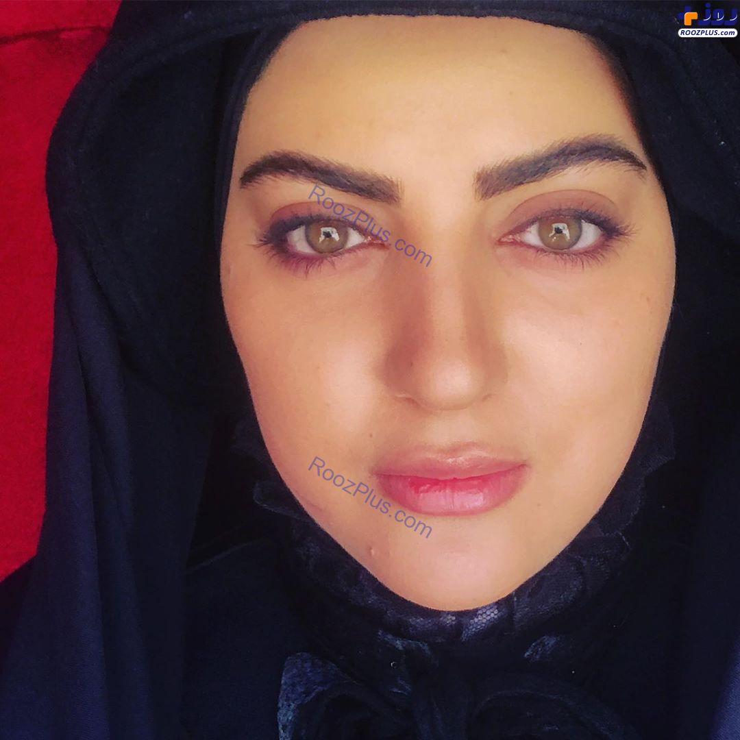 خانم بازیگر داغدار شد +عکس