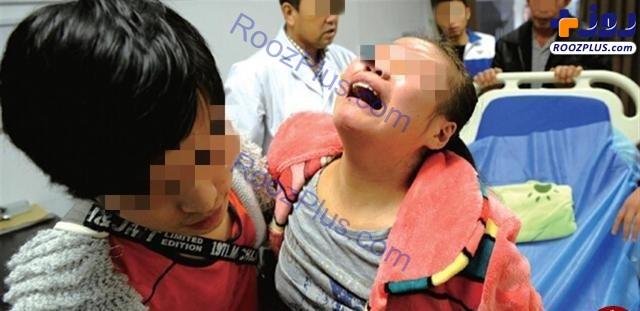 کتک زدن کودک 8ساله بخاطر تکالیف مدرسه فاجعه شد+تصاویر