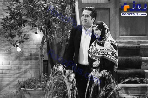 عکس/مانی رهنما همراه همسر جان