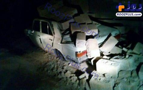 تصاویری از خسارات زلزله دیشب در شمال غرب کشور