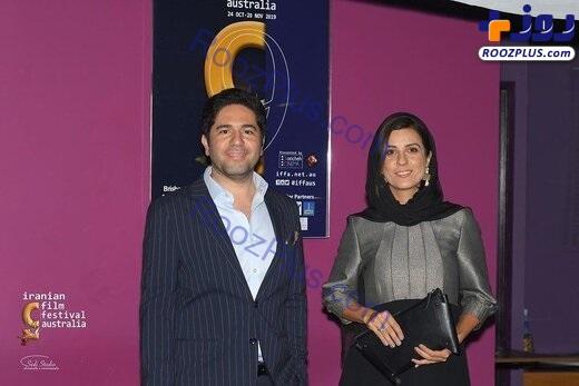 پوشش سارا بهرامی در جشنواره فیلمهای پارسی در استرالیا+عکس