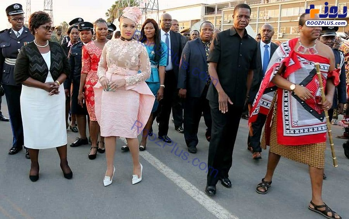 ریخت و پاش پادشاه آفریقایی برای ۱۴ زنش!