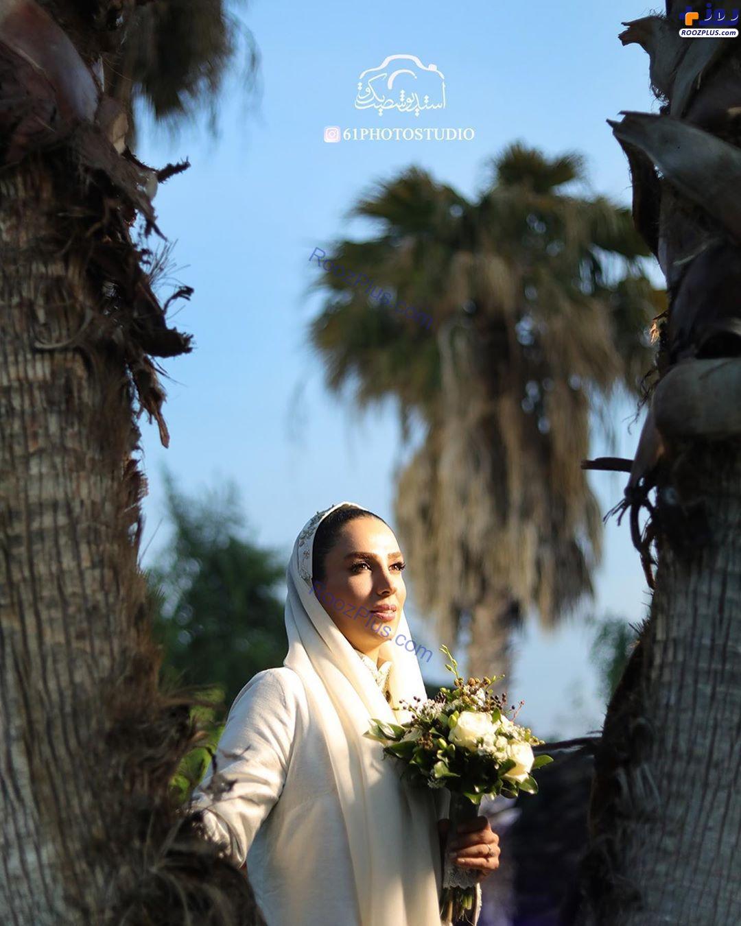 عکس های مراسم عروسی سوگل طهماسبی در طبیعت