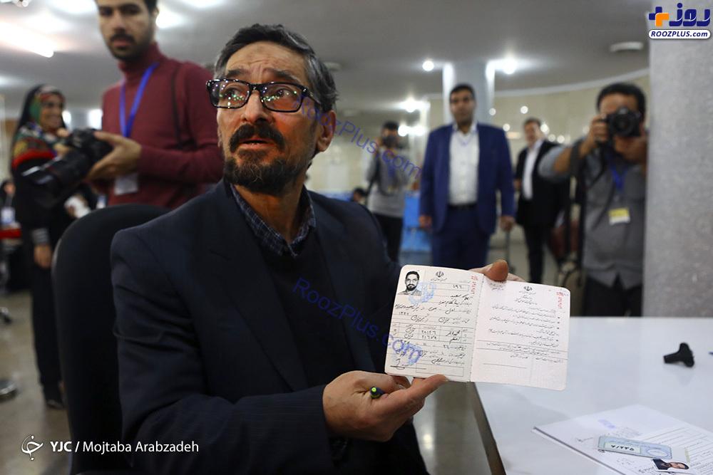 ثبت نام برادر زیبا کلام در انتخابات مجلس +عکس