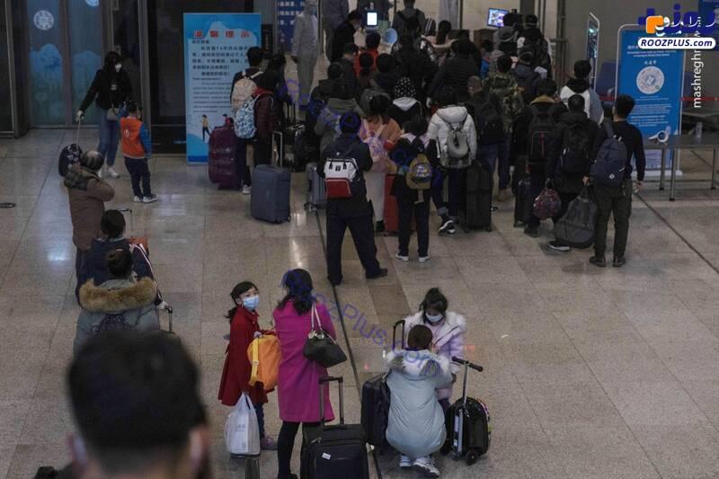 آغاز پروازها در فرودگاه ووهان چین+تصاویر
