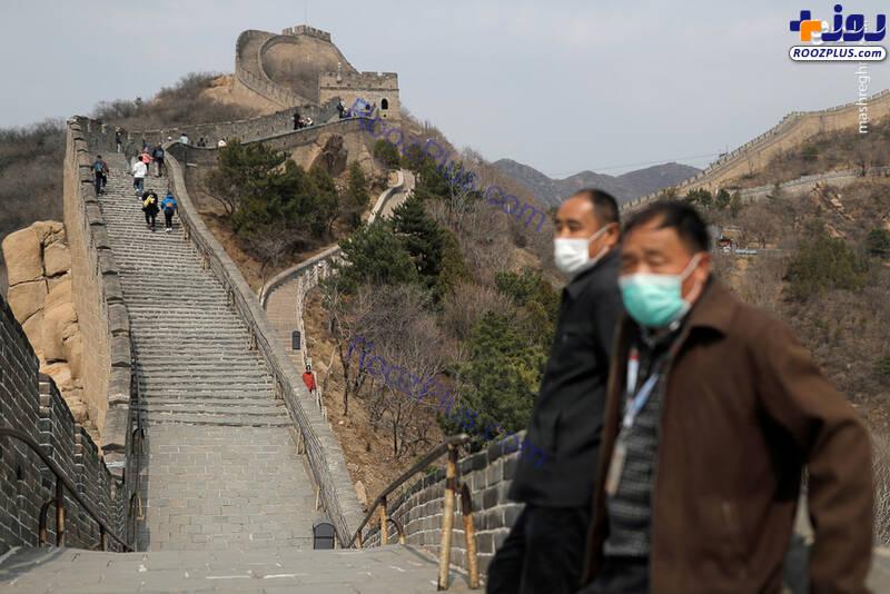 بازگشایی دیوار چین پس از مهار کرونا+عکس