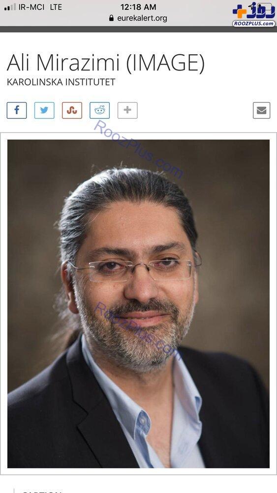 پزشک ایرانی که نخستین داروی ضد کرونای دنیا را ساخته +عکس