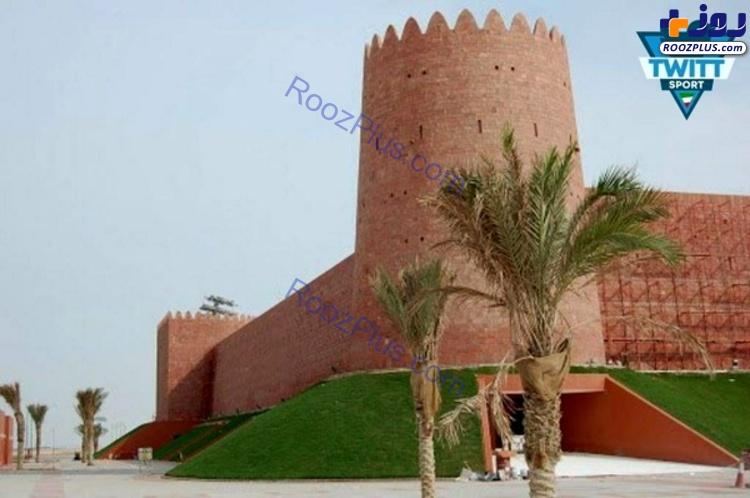 عکس/ورزشگاهی در قطر شبیه به ارگ کریمخان شیراز