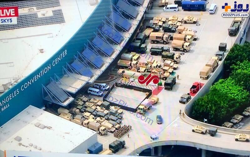 تصاویر لو رفته از مرکز همایش لس آنجلس