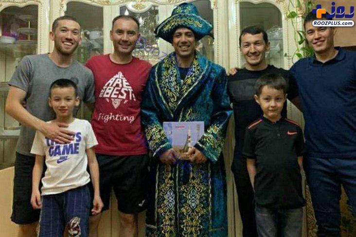 جشن قزاق ها برای تقدیر از لژیونر ایرانی +عکس