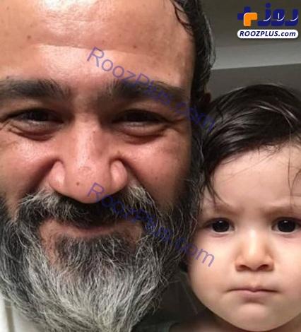 عکس/شباهت هانا غفوریان به پدرش مهران!
