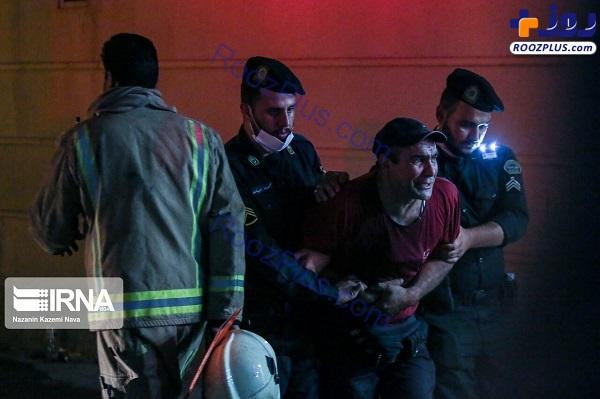 خانواده درگذشتگان در شوک حادثه ناگوار انفجار کلینیک درمانی سینا +عکس