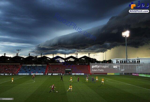 وحشت از ابر متفاوت و ترسناک در آسمان + عکس