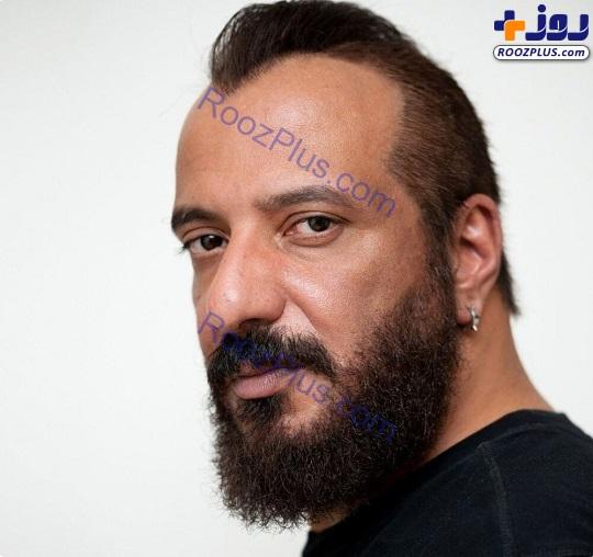 ظاهر نامتعارف امیر جعفری با گوشواره +عکس