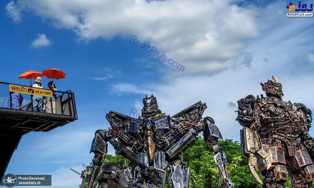 خانه روبات ها در تایلند +عکس