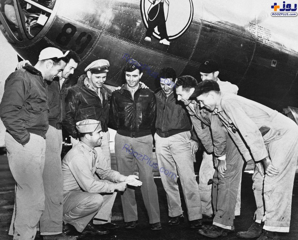 خلبانان آمریکایی که در بمباران هیروشیما و ناکازاکی حضور داشتند +عکس