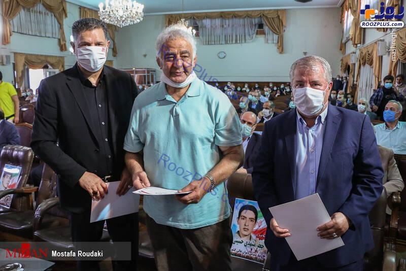 علی دایی و علی پروین در جشن عید غدیر+تصاویر