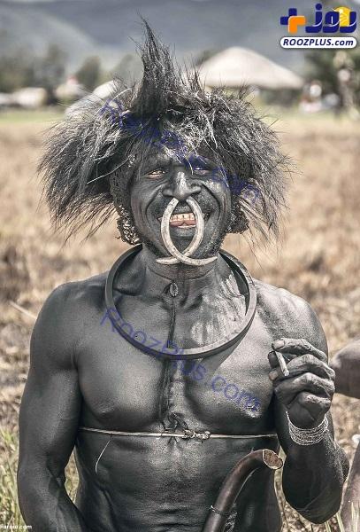 قبیله عریان و آدمخوار! +عکس