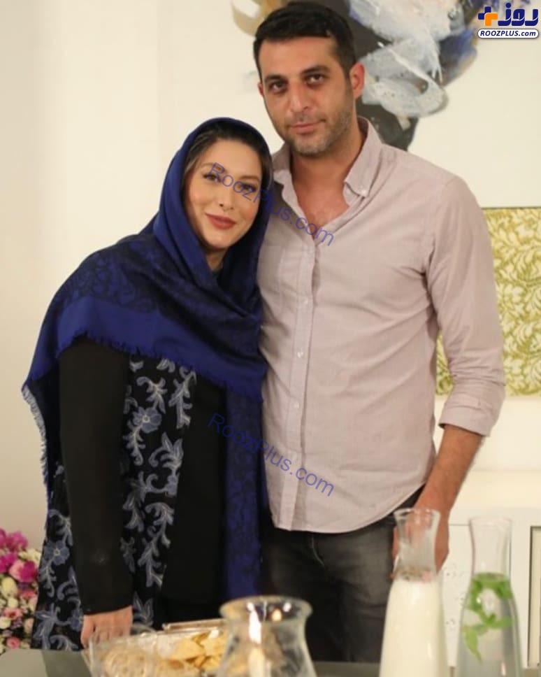 فریبا نادری در کنار برادرش +عکس