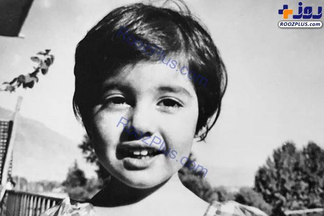 آناهیتا همتی در دوران کودکی +عکس